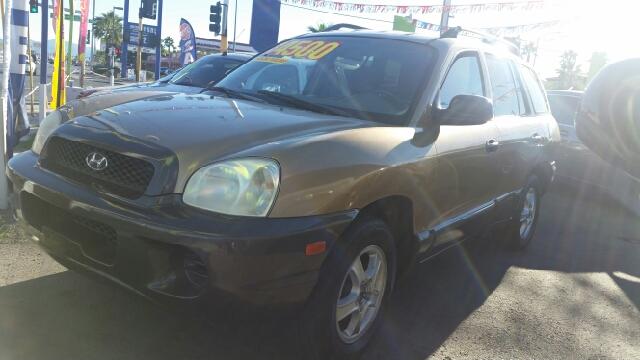 Used Cars in Las Vegas 2001 Hyundai Santa Fe