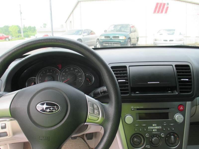 2008 Subaru Legacy AWD 2.5i 4dr Sedan 5M - London KY