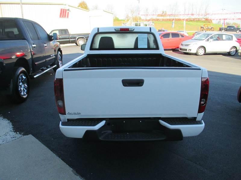 2011 Chevrolet Colorado 4x2 Work Truck 2dr Regular Cab - London KY