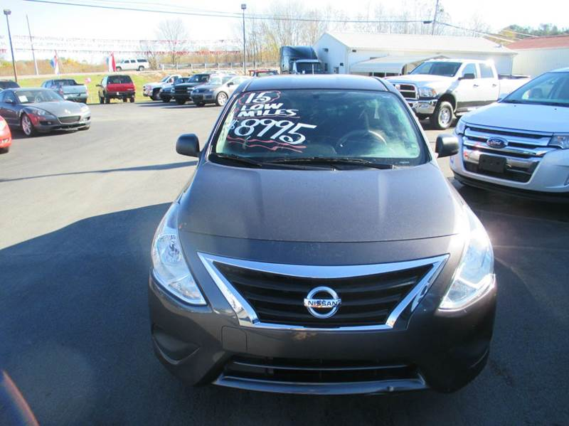2015 Nissan Versa 1.6 S 4dr Sedan 5M - London KY