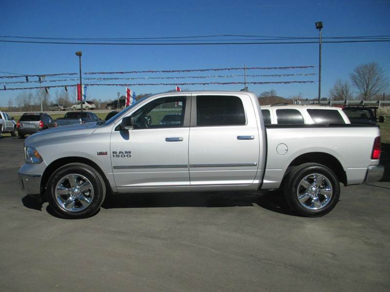 2014 RAM Ram Pickup 1500 4x4 Big Horn 4dr Crew Cab 5.5 ft. SB Pickup - London KY