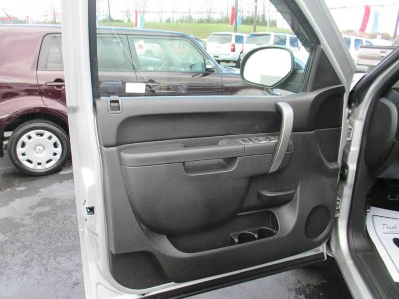 2012 Chevrolet Silverado 1500 4x2 LT 4dr Crew Cab 5.8 ft. SB - London KY