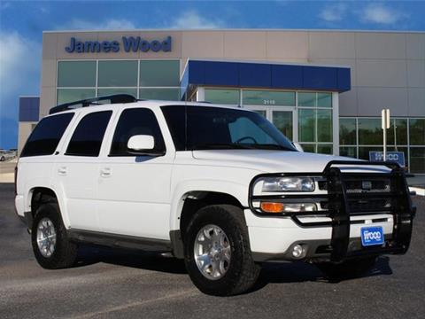 2002 Chevrolet Tahoe for sale in Decatur TX