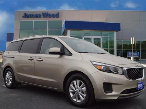 2015 Kia Sedona for sale in Decatur TX
