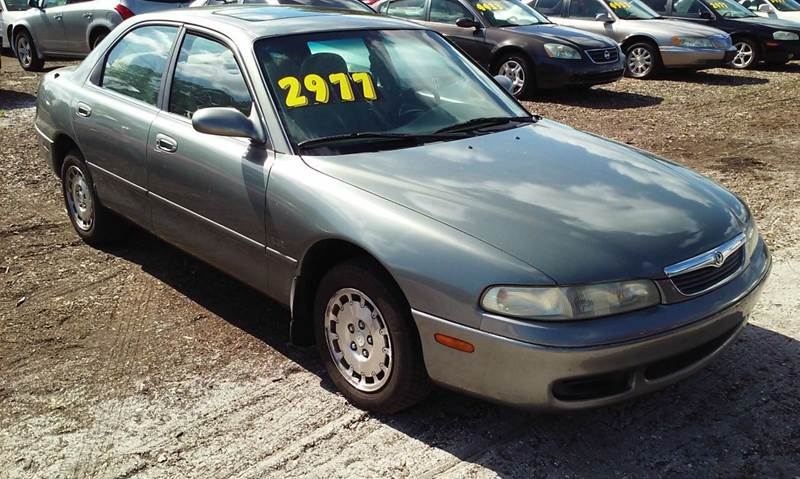 1996 mazda 626 lx 4dr sedan in saint petersburg fl. Black Bedroom Furniture Sets. Home Design Ideas