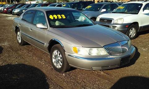 2001 Lincoln Continental for sale in Saint Petersburg, FL