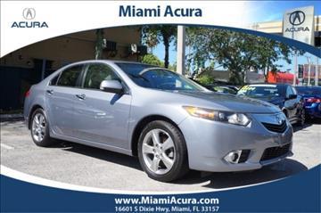 2011 Acura TSX for sale in Miami, FL