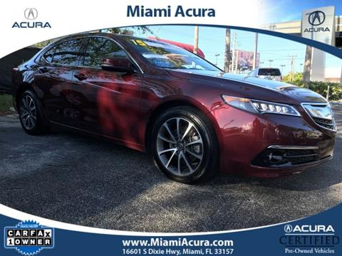 2015 Acura TLX for sale in Miami FL