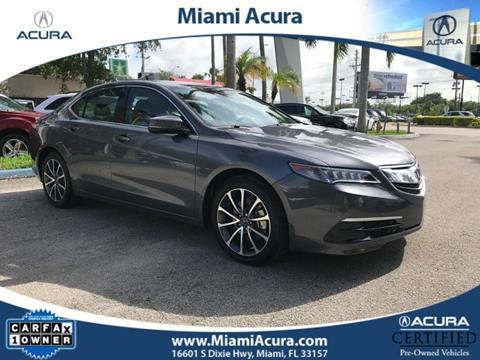 2017 Acura TLX for sale in Miami, FL