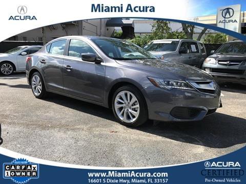 2017 Acura ILX for sale in Miami, FL