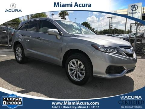 2017 Acura RDX for sale in Miami, FL