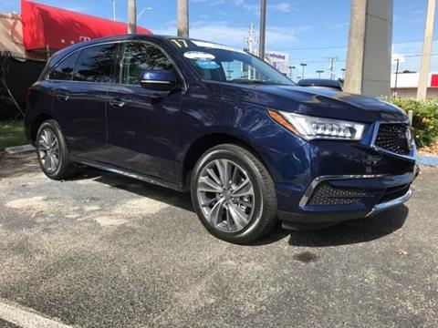 2017 Acura MDX for sale in Miami, FL