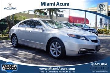2012 Acura TL for sale in Miami, FL