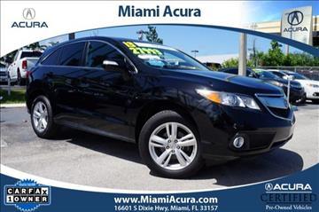 2013 Acura RDX for sale in Miami, FL