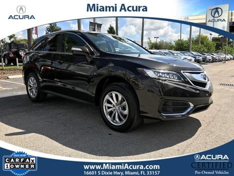 2017 Acura RDX for sale in Miami FL