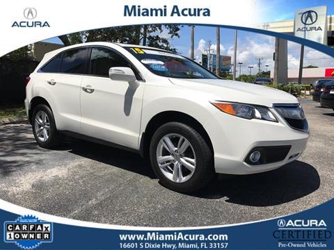 2015 Acura RDX for sale in Miami FL