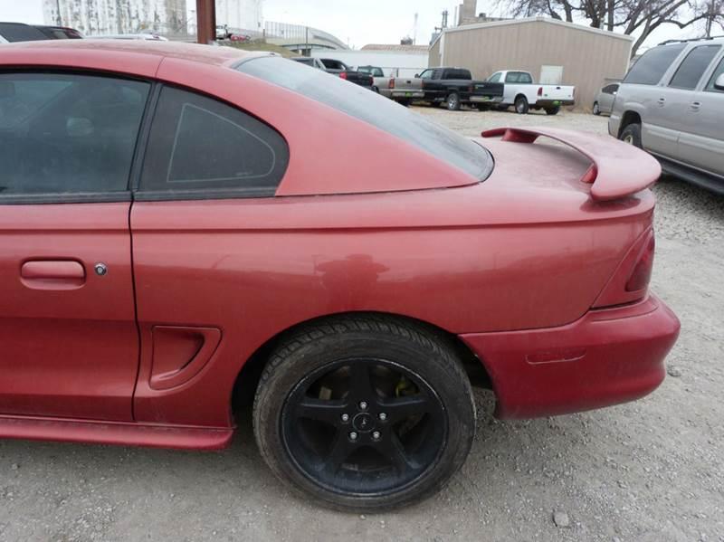 1996 Ford Mustang SVT Cobra 2dr Coupe - Fremont NE