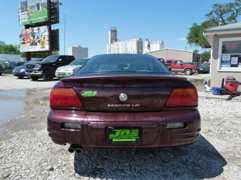 1998 Chrysler Sebring LXi 2dr Coupe - Fremont NE