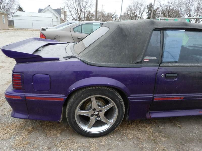 1991 Ford Mustang GT 2dr Convertible - Fremont NE