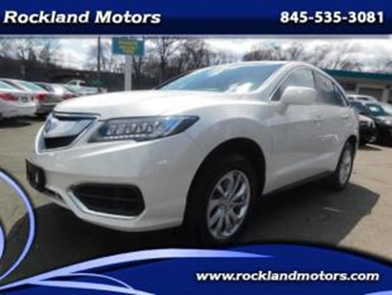2018 Acura Rdx Technology & AcuraWatch Plus Packages In West Nyack on toyota west, honda west, jeep west,