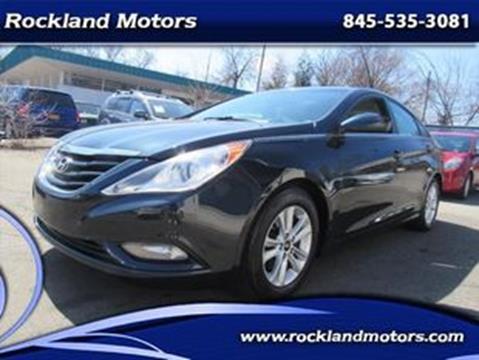 2013 Hyundai Sonata GLS for sale at Rockland Motors in West Nyack NY