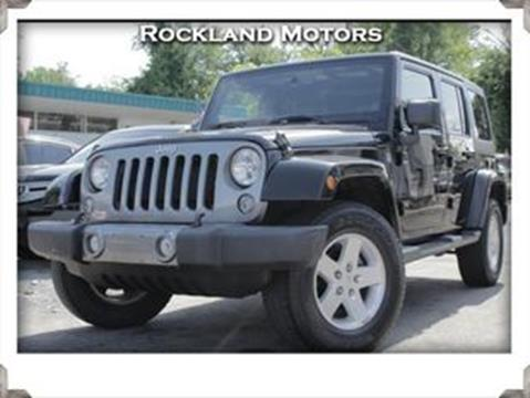 2014 Jeep Wrangler Unlimited for sale in West Nyack, NY