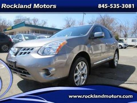 2012 Nissan Rogue S for sale at Rockland Motors in West Nyack NY