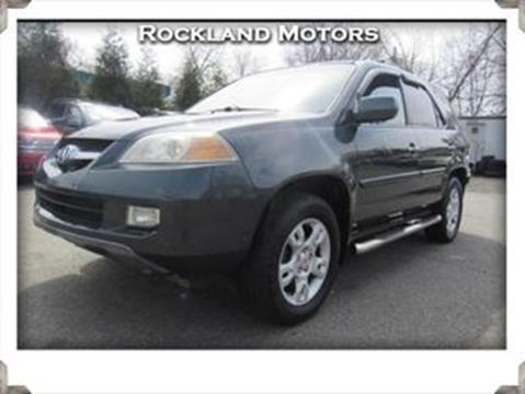 2004 Acura MDX Touring w/Navi w/RES for sale at Rockland Motors in