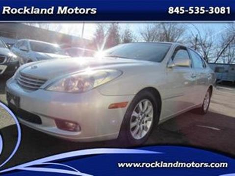 2002 Lexus ES 300 for sale at Rockland Motors in West Nyack NY