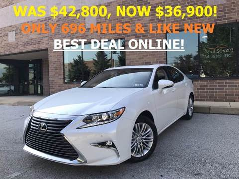 2017 Lexus ES 350 for sale in West Chester, PA