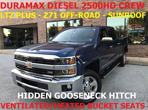 2016 Chevrolet Silverado 2500HD for sale in West Chester, PA