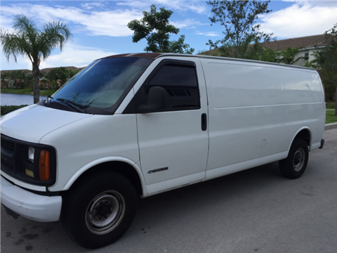 1999 Chevrolet Express Cargo for sale in Pompano Beach, FL