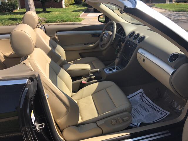 2008 Audi A4 AWD 2.0T quattro 2dr Convertible (2L I4 6A) - Freeport NY