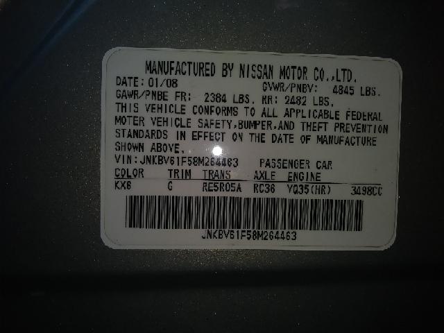 2008 Infiniti G35 AWD x 4dr Sedan - Freeport NY