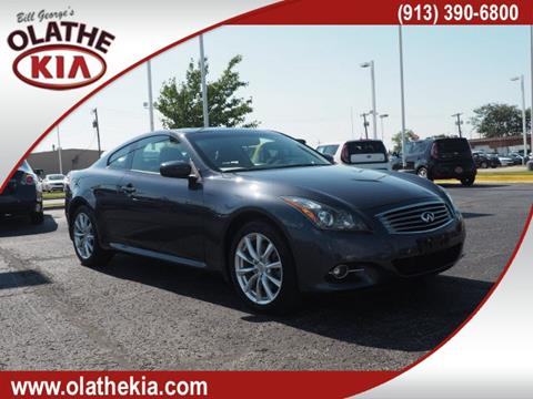2011 Infiniti G37 Coupe for sale in Olathe KS