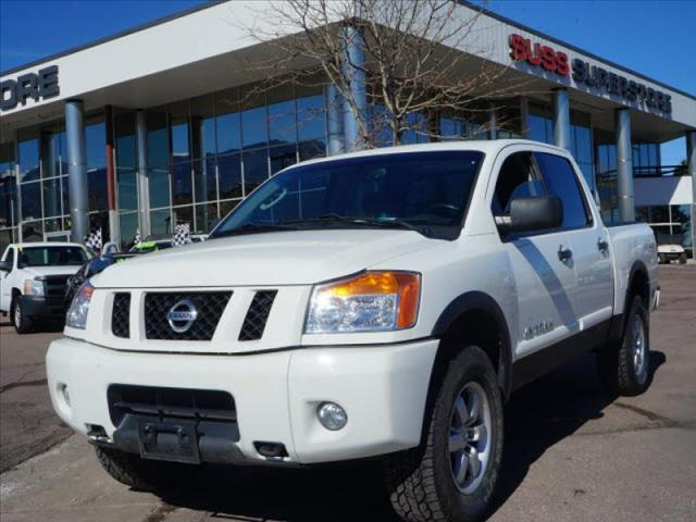2010 nissan titan pro 4x in colorado springs u s a f academy fountain military auto loans colorado. Black Bedroom Furniture Sets. Home Design Ideas