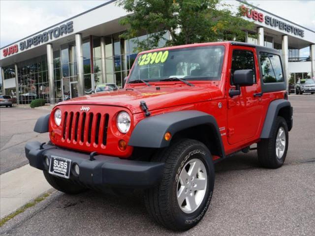 2012 Jeep Wrangler for sale in Colorado Springs CO