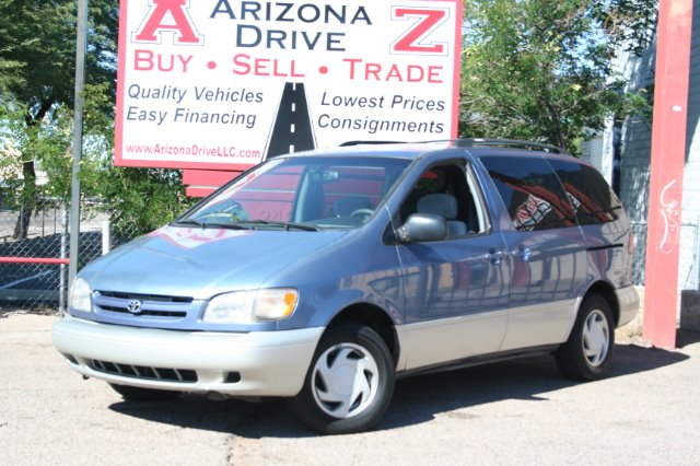 2000 TOYOTA SIENNA LE 4DR PASSENGER VAN blue toyota quality and dependability room for 7 with dual