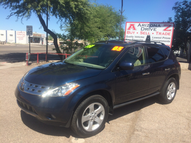 2005 NISSAN MURANO SL AWD 4DR SUV blue this beautiful vehicle in excellent conditions automatic f
