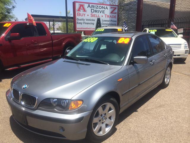 2004 BMW 3 SERIES 325I 4DR SEDAN dark silver 16 inch wheels abs - 4-wheel alloy wheels aluminum