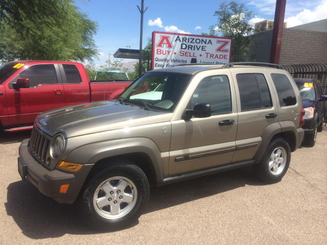 2006 JEEP LIBERTY SPORT 4DR SUV 4WD gray 4wd type - part time abs - 4-wheel anti-theft system -