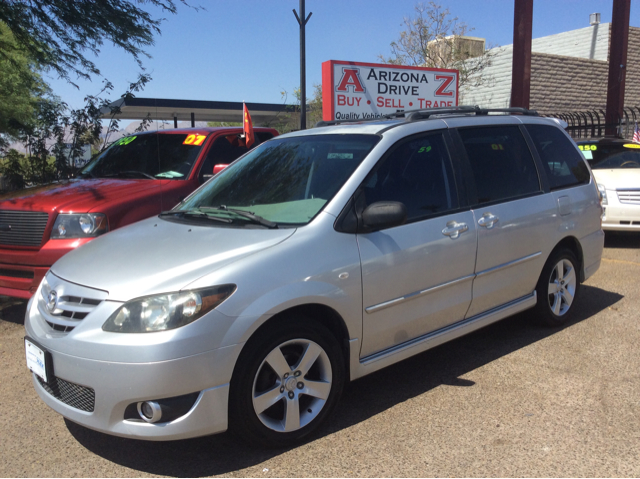 2004 MAZDA MPV ES 4DR MINIVAN silver 17 inch wheels abs - 4-wheel captain chairs 4 cd changer