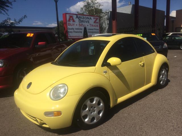 2002 VOLKSWAGEN NEW BEETLE GLS 18T 2DR HATCHBACK yellow abs - 4-wheel alloy wheels anti-theft s