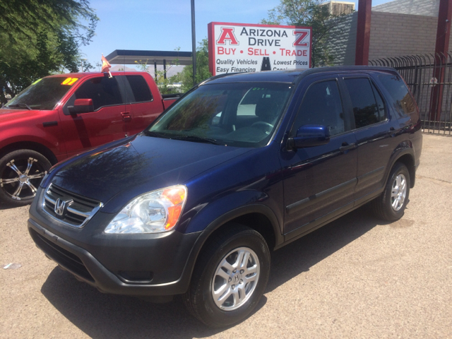 2003 HONDA CR-V EX AWD 4DR SUV blue abs - 4-wheel alloy wheels cd changer clock cruise control