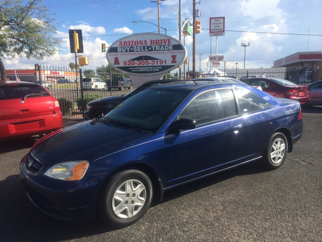 2003 HONDA CIVIC LX 2DR COUPE blue clock cruise control exterior entry lights exterior mirrors