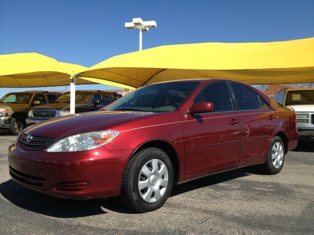 2002 TOYOTA CAMRY LE red air conditioningamfm radioanti-brake system non-abs  4-wheel absaut