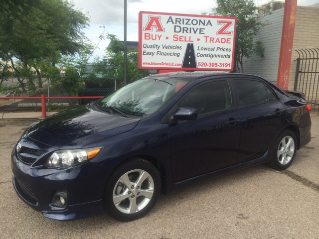 2012 TOYOTA COROLLA S 4DR SEDAN 4A blue this vehicle one owner automatic fully loaded the special