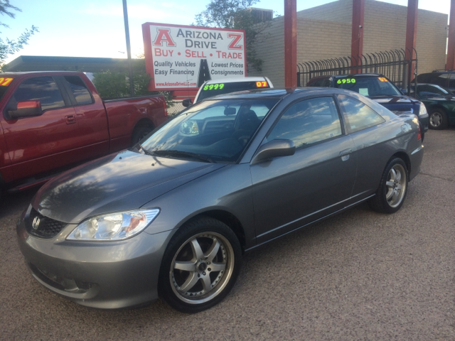 2004 HONDA CIVIC EX 2DR COUPE gray abs - 4-wheel alloy wheels center console clock cruise cont