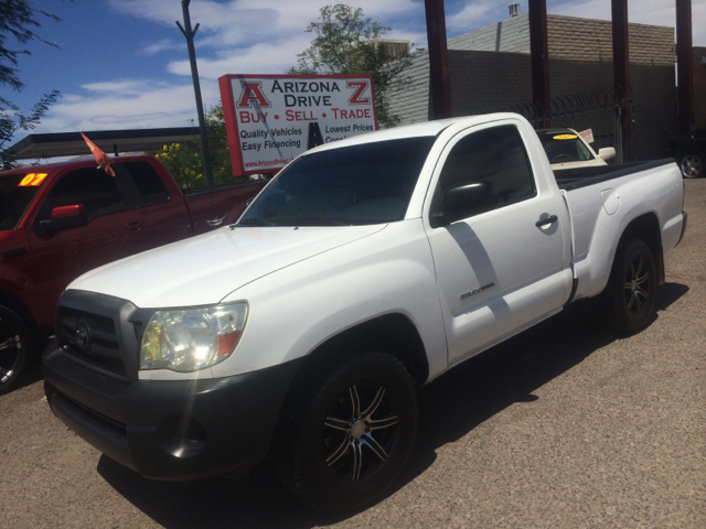 2007 TOYOTA TACOMA BASE 2DR REGULAR CAB 61 FT SB white abs - 4-wheel antenna type - mast axle