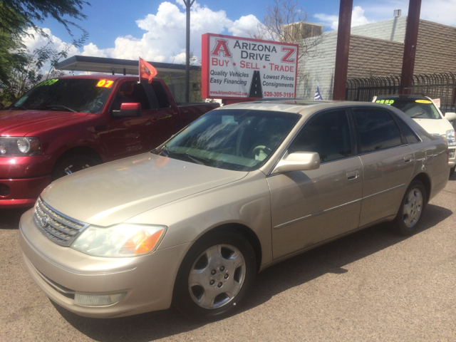 2003 TOYOTA AVALON XLS 4DR SEDAN WBUCKET SEATS light gold 15 inch wheels abs - 4-wheel alloy wh